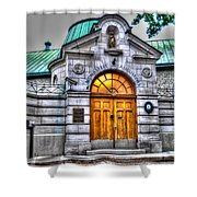 Monastere Des Augustines Shower Curtain