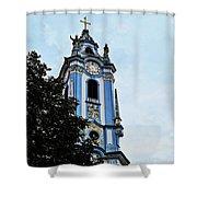 Monastic Church Shower Curtain