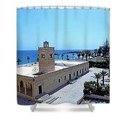 Great Mosque Monastir Shower Curtain