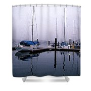 Monday Morning Shower Curtain by Skip Willits