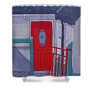 Monedarragh Back Door And Gate Shower Curtain