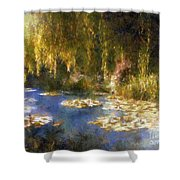 Monet After Midnight Shower Curtain