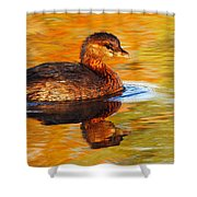 Monet Grebe Shower Curtain