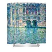 Monet's Palazzo De Mula In Venice Shower Curtain