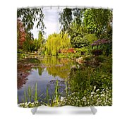 Monet's Water Garden 2 At Giverny Shower Curtain