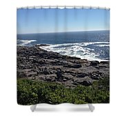Monhegan Island Shower Curtain
