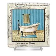 Monique Bath 1 Shower Curtain