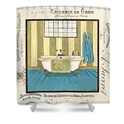 Monique Bath 2 Shower Curtain by Debbie DeWitt