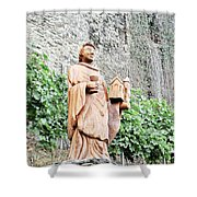 Monk Of St Goar Shower Curtain