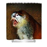 Monkey Fangs Shower Curtain