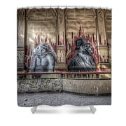Monky  Business  Shower Curtain
