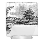 Monmouth Battlefield Shower Curtain