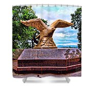 Monmouth County 9/11 Memorial Shower Curtain