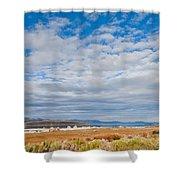 Mono Lake Tufa Formations Shower Curtain