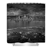 Mono Lake Tufa Shower Curtain
