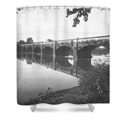 Monocacy Aqueduct, 1892 Shower Curtain