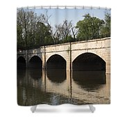 Monocacy Aqueduct On The C And O Canal In Maryland Shower Curtain