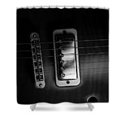 Monochrome Yamaha 2 Shower Curtain