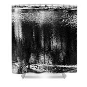Monoduck Way Shower Curtain