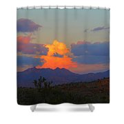 Monolith Gardens Shower Curtain