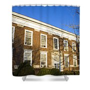 Monroe Hall University Of Virginia Shower Curtain
