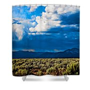 Monsoons In July Shower Curtain