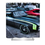 Monster Camaro Shower Curtain