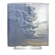 Monster Cloud Country Shower Curtain