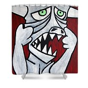Monsters Afaid Of Monsters Shower Curtain