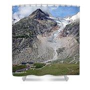 Mont Blanc Shower Curtain