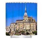 Mont Saint-michel Shower Curtain