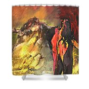 Mont Sinai Shower Curtain