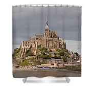 Mont St Michel Shower Curtain