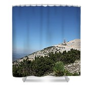 Mont Ventoux Shower Curtain