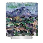 Montagne Sainte-victoire Shower Curtain