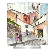 Montalcino 01 Shower Curtain