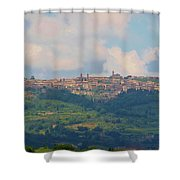 Montalcino Shower Curtain by Marilyn Dunlap