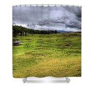 Montana Breeding Ground Shower Curtain