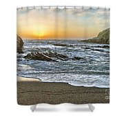 Montana De Oro Shore IIi Shower Curtain