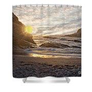 Montana De Oro Sunset II Shower Curtain