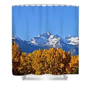 Montana Fall Shower Curtain