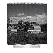 Montana Farm Shower Curtain