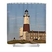Montauk Point Lighthouse Shower Curtain