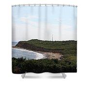 Montauk - The Point Shower Curtain