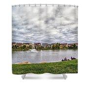 Montecito Subdivision Shower Curtain