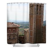 Montepulciano  Shower Curtain