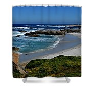 Monterey-1 Shower Curtain