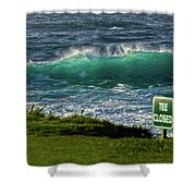 Monterey 17 Mile Drive Shower Curtain