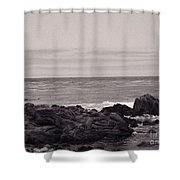 Monterey Bay 1 Shower Curtain