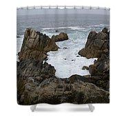 Monterey Bay - California Shower Curtain